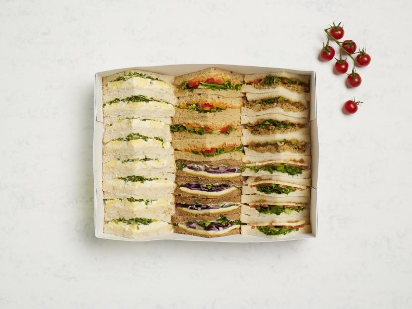 Vegetarian Sandwich Platter- Serves 6
