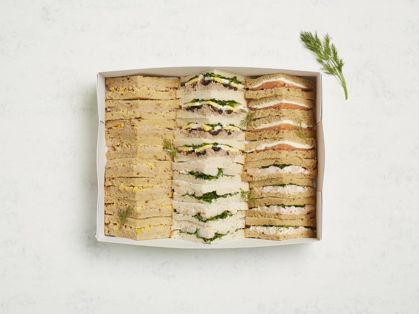 Fish Sandwich Platter- Serves 6